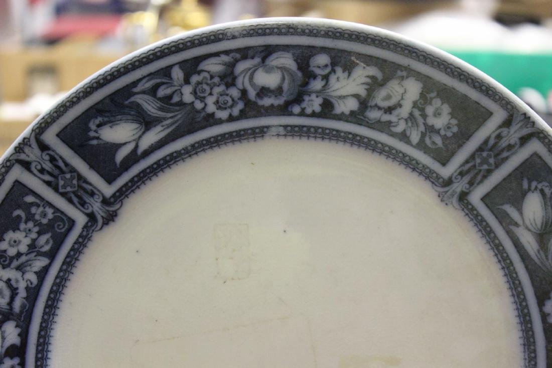 A Flow Blue Plate - 2