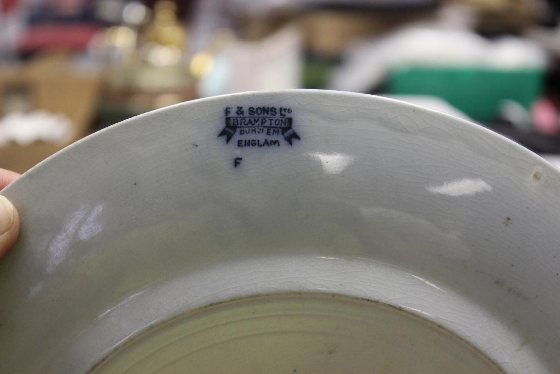 A Flow Blue Plate - 4