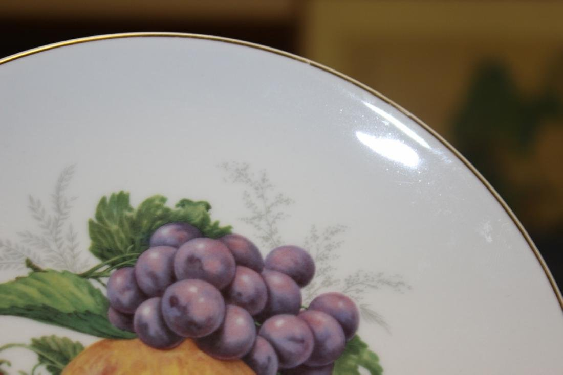An E&R Golden Crown Germany Salad Plate - 4