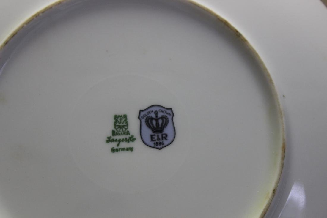 An E&R Golden Crown Germany Salad Plate - 9