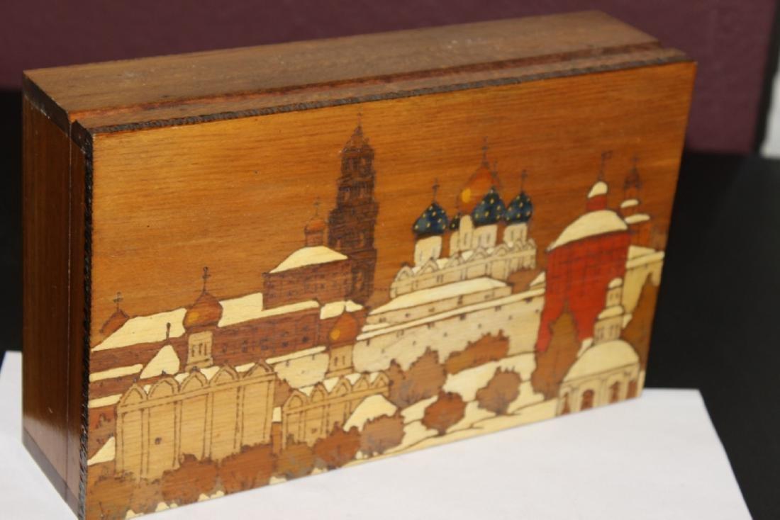 A Russian Inlaid Box - 2