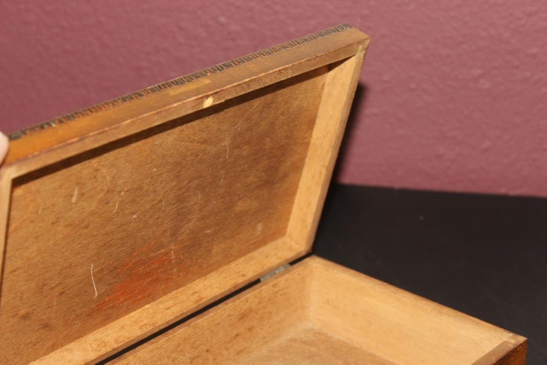 A Russian Inlaid Box - 4