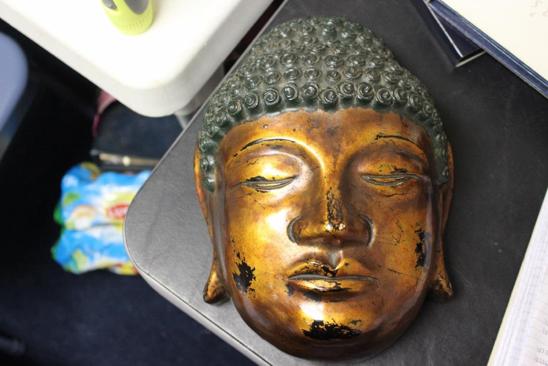 A Chinese/Japanese/Asian/Korean Lacquer Mask