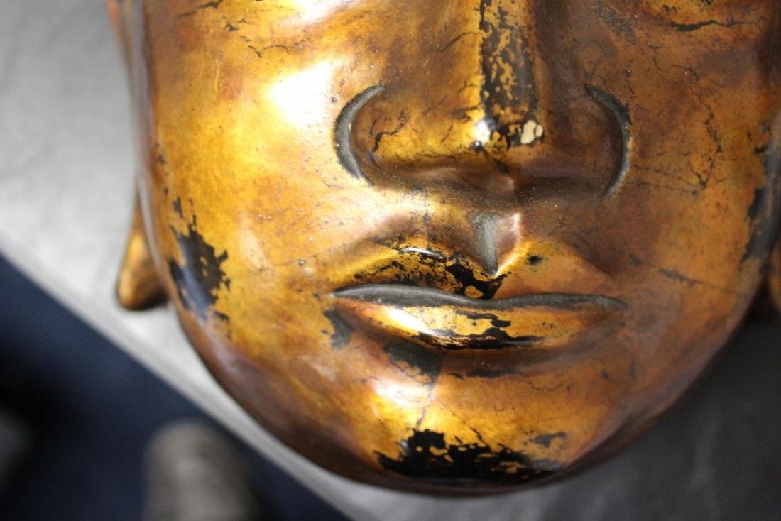 A Chinese/Japanese/Asian/Korean Lacquer Mask - 3