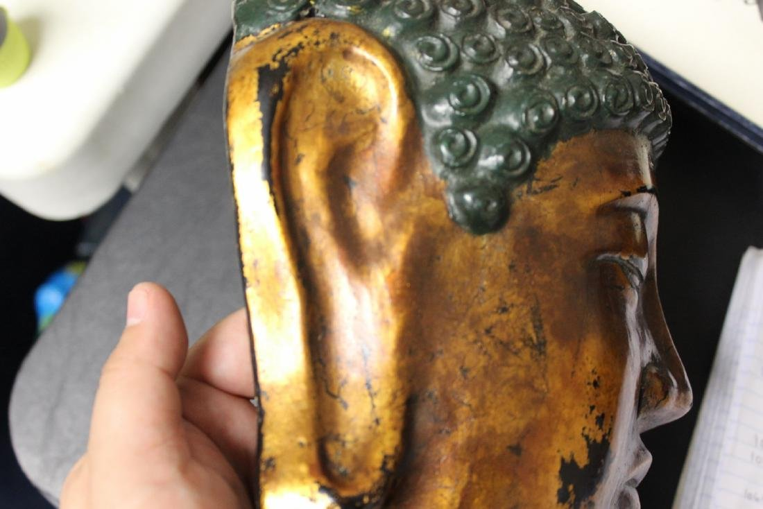 A Chinese/Japanese/Asian/Korean Lacquer Mask - 5