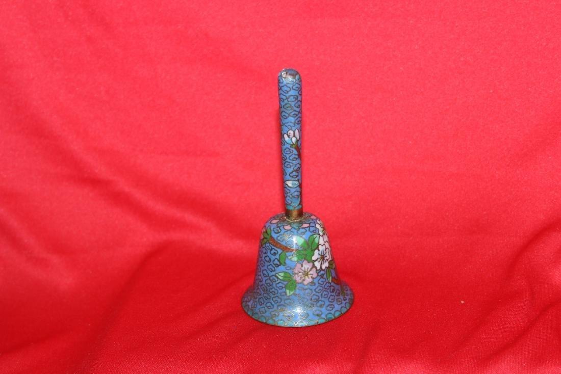 A Cloisonne Bell - 2