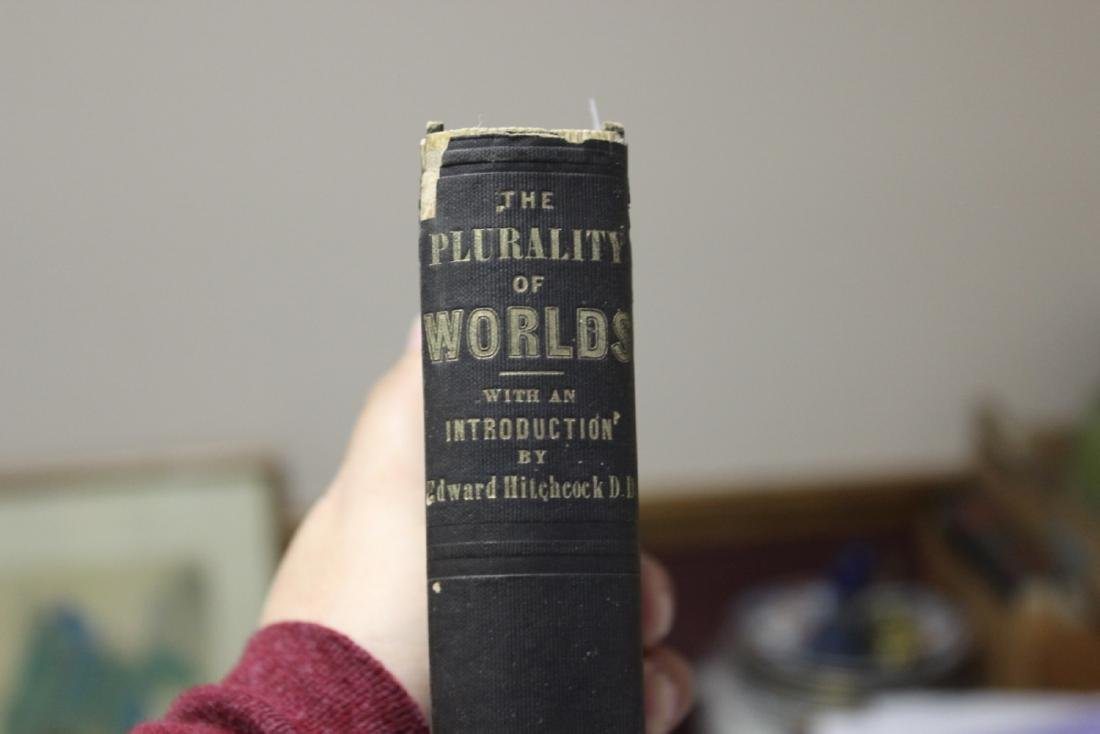 """A 19th Century Book - """"Plurality of Worlds"""""""