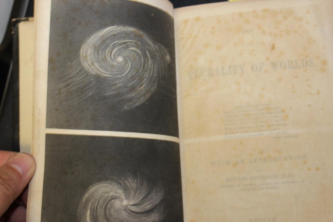 """A 19th Century Book - """"Plurality of Worlds"""" - 4"""