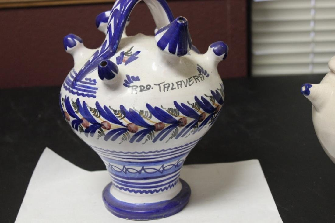 An Old Ceramic Ewer