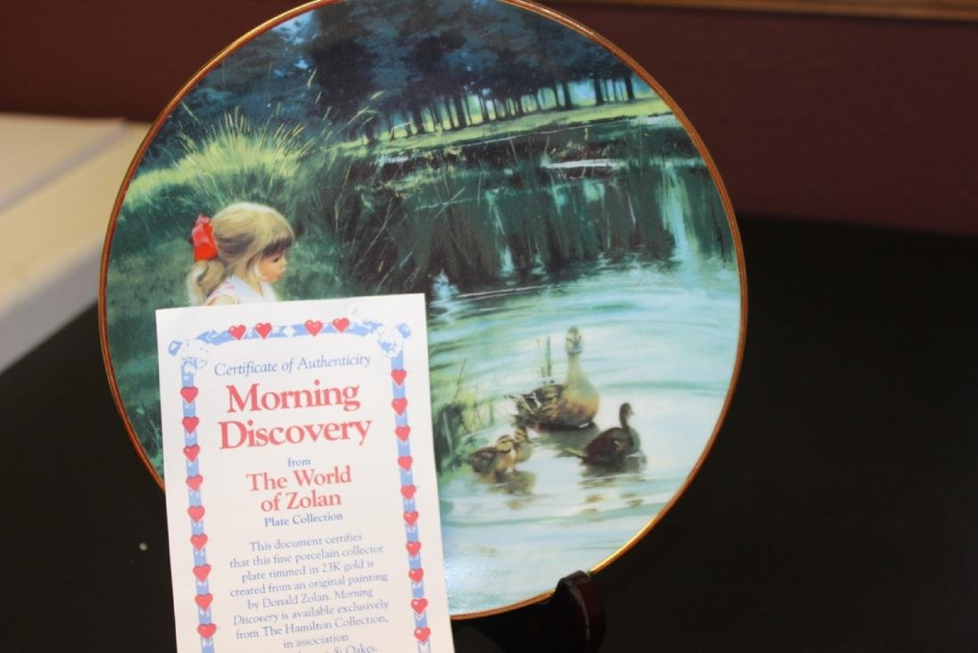 Collectors Plate by Zolan - Boxed with COA - 4