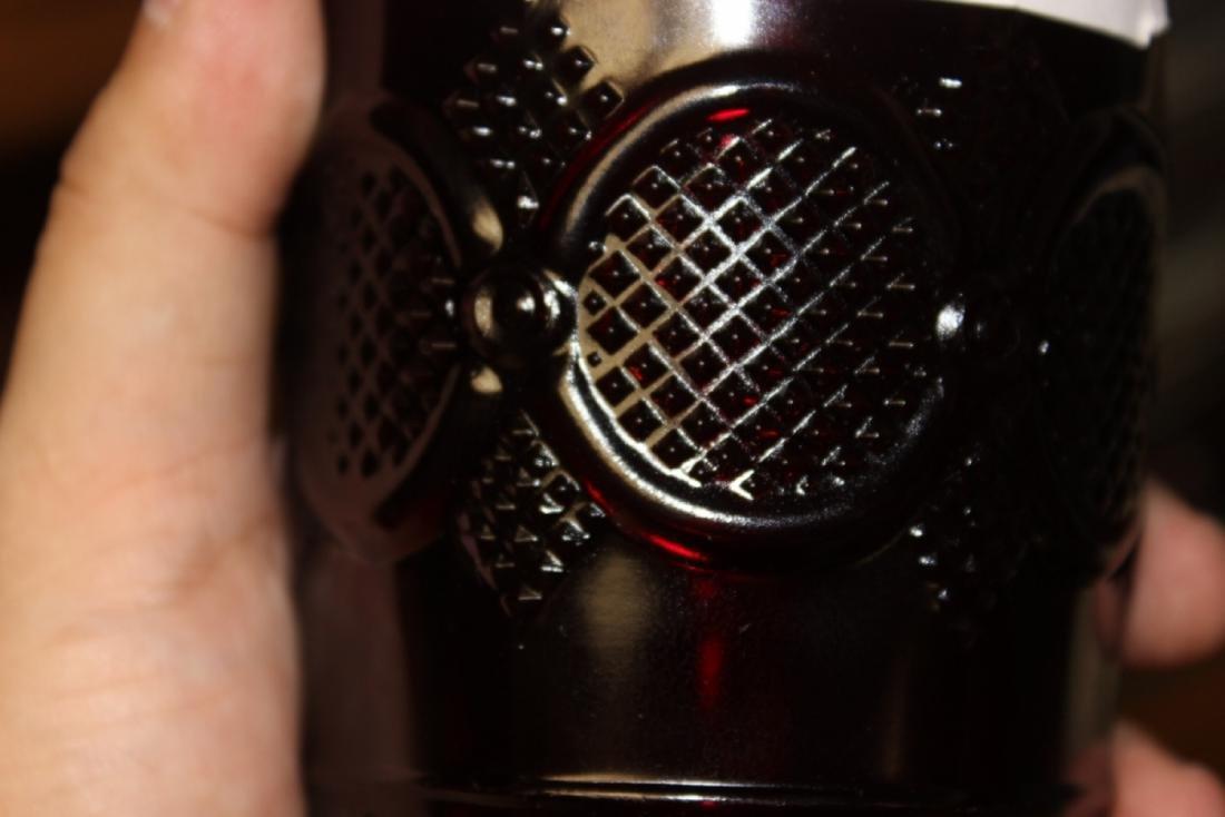 Avon Ruby Red Cape Cod Beverage Glass - 8