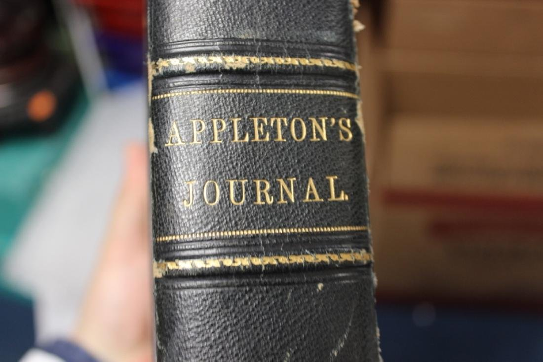 Leather Bound Book - Appleton Journal -1869, Vol. 1. - 2