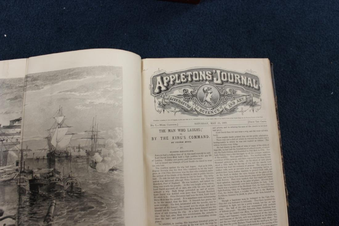 Leather Bound Book - Appleton Journal -1869, Vol. 1. - 5