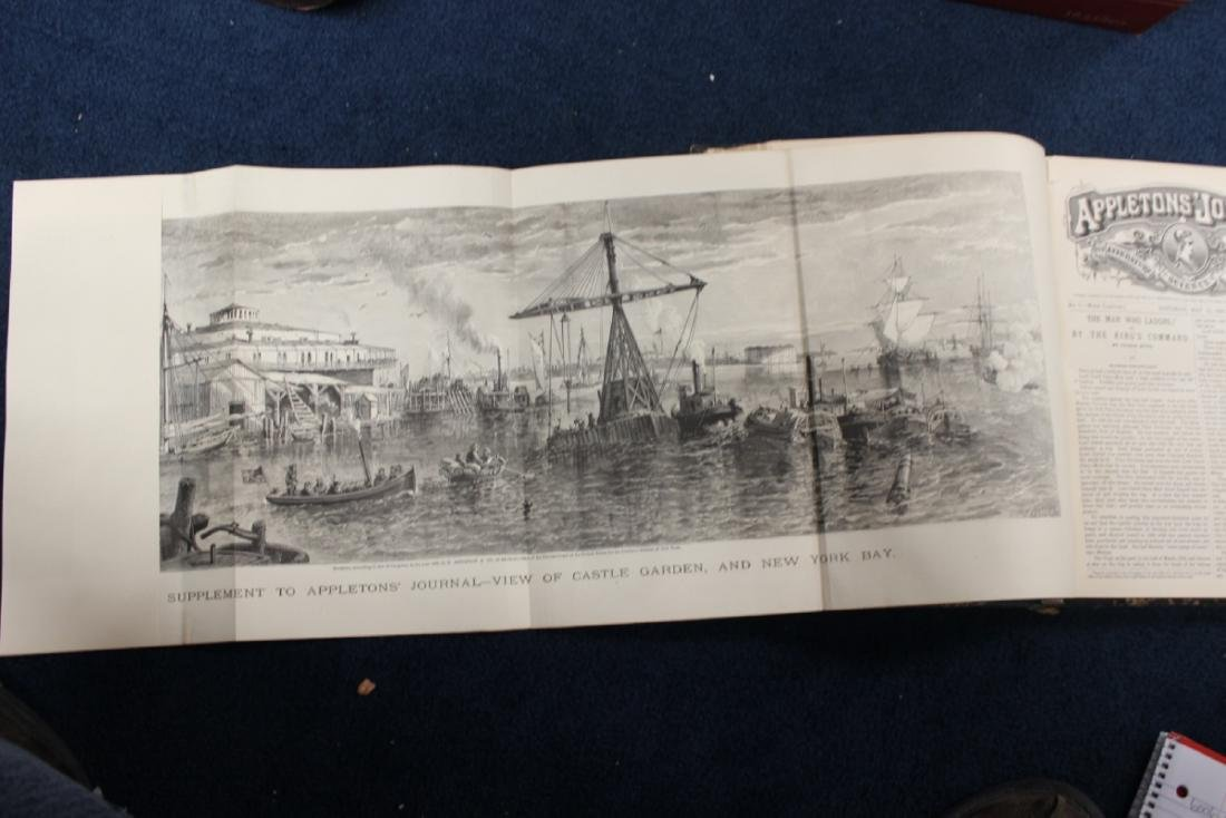 Leather Bound Book - Appleton Journal -1869, Vol. 1. - 6