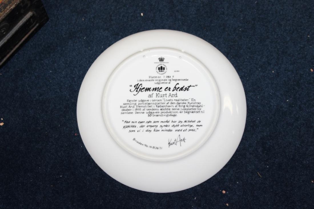 A Collectors Plate by Kurt Ard - 7