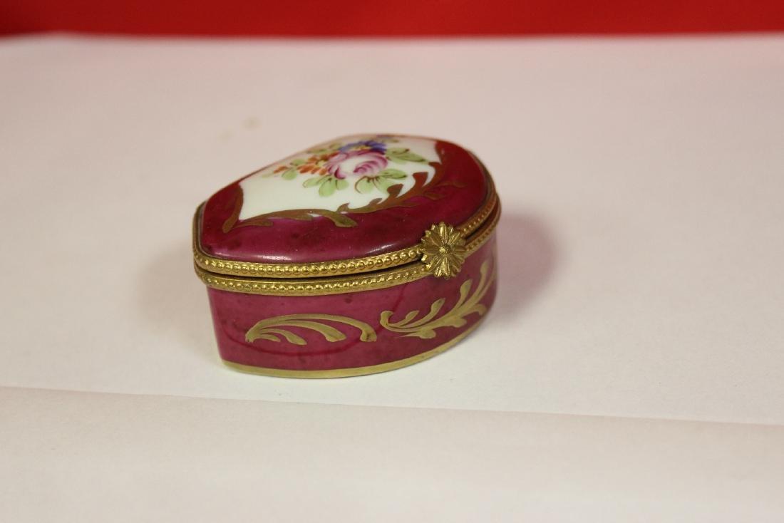 A Limoge Trinket Box