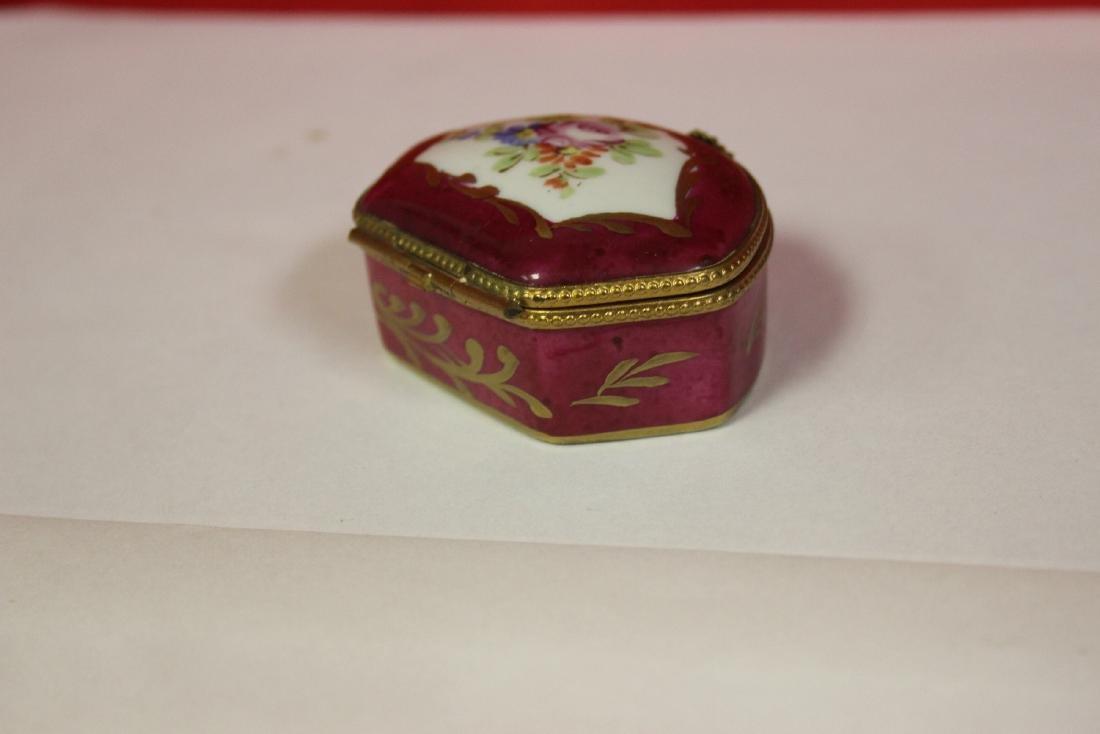 A Limoge Trinket Box - 2