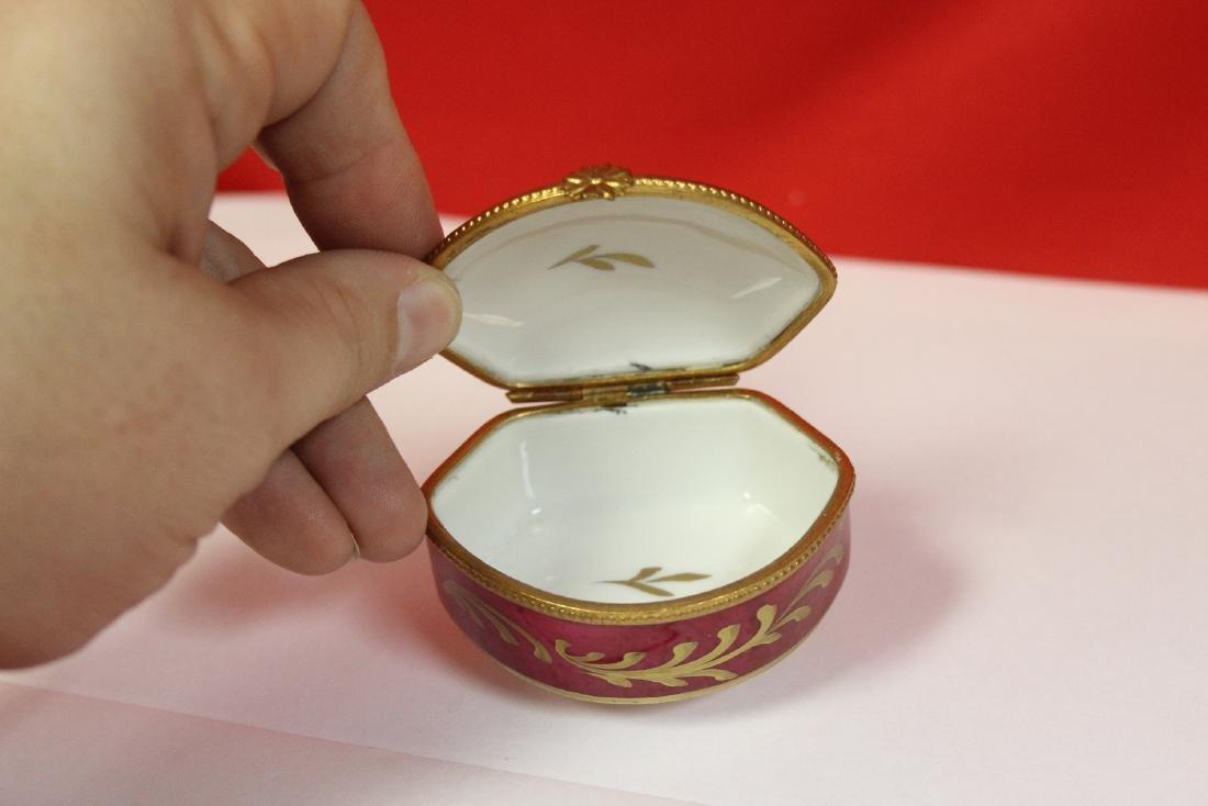A Limoge Trinket Box - 4