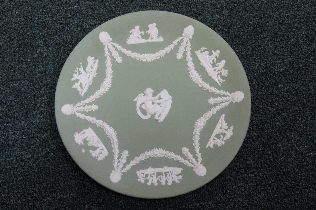 A Wedgwood Plate Jasperware