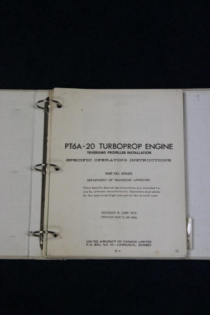 PT6A - 20 Turbodrop Engine Manual