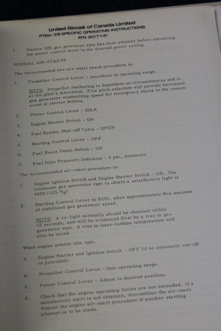 PT6A - 20 Turbodrop Engine Manual - 3