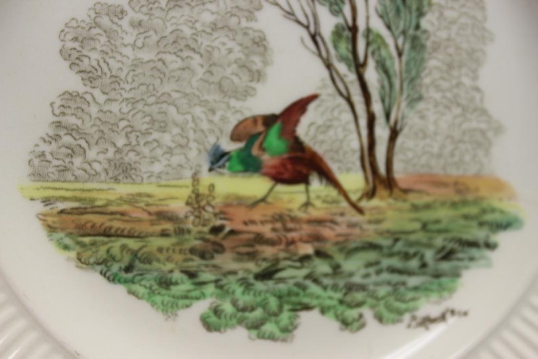 A Set of 4 Royal Doulton Birbeck Plates - 7