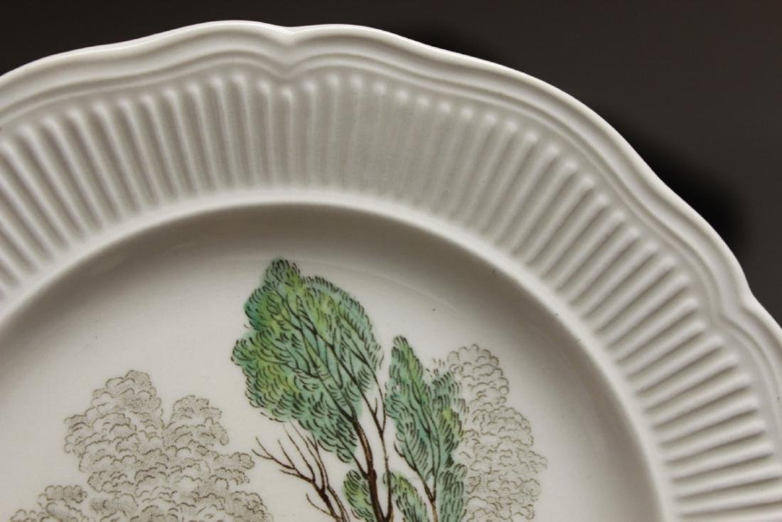 A Set of 4 Royal Doulton Birbeck Plates - 8