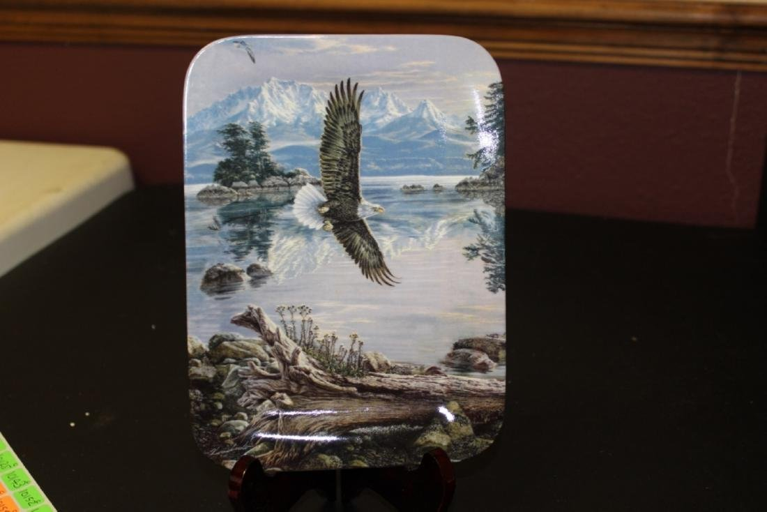 "Collectors Plate ""Dawn's Call As The Eagle Soar's"" by"