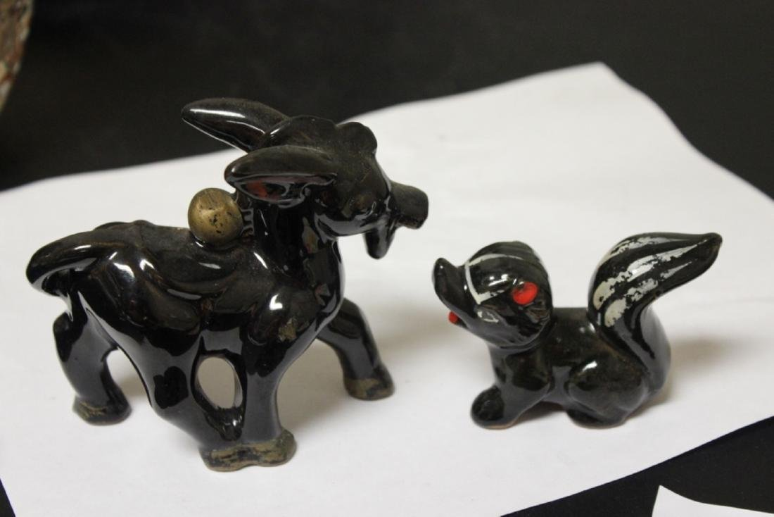 Lot of Two Ceramic Animal Figures - 2