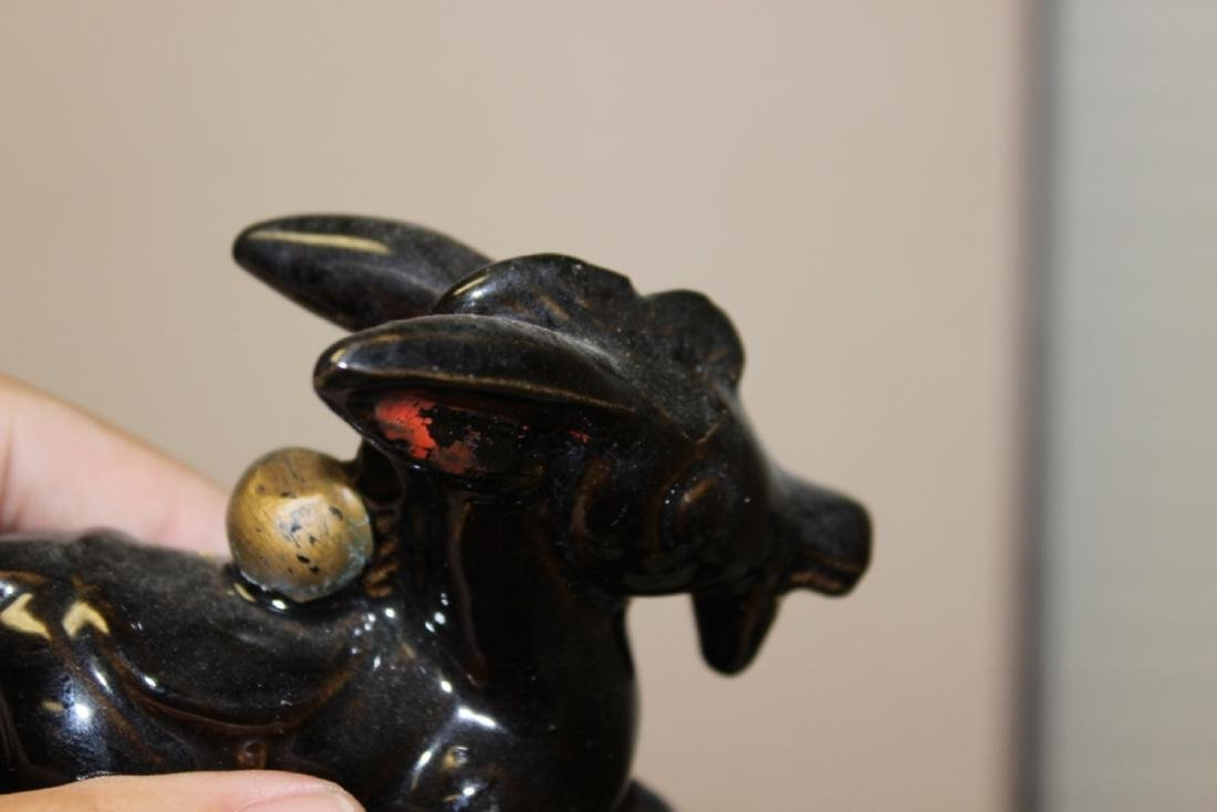 Lot of Two Ceramic Animal Figures - 3