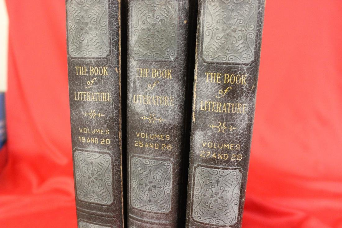 Lot of 3 Old Books - 8