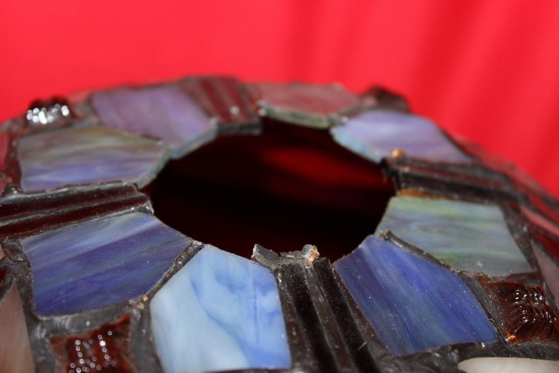 A Stain Glass Lamp Shade - 2