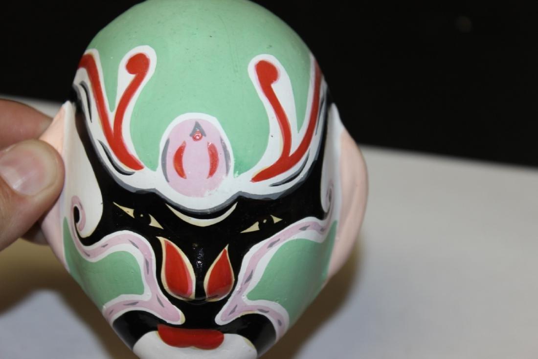 A Ceramic Decorative Mask - 3