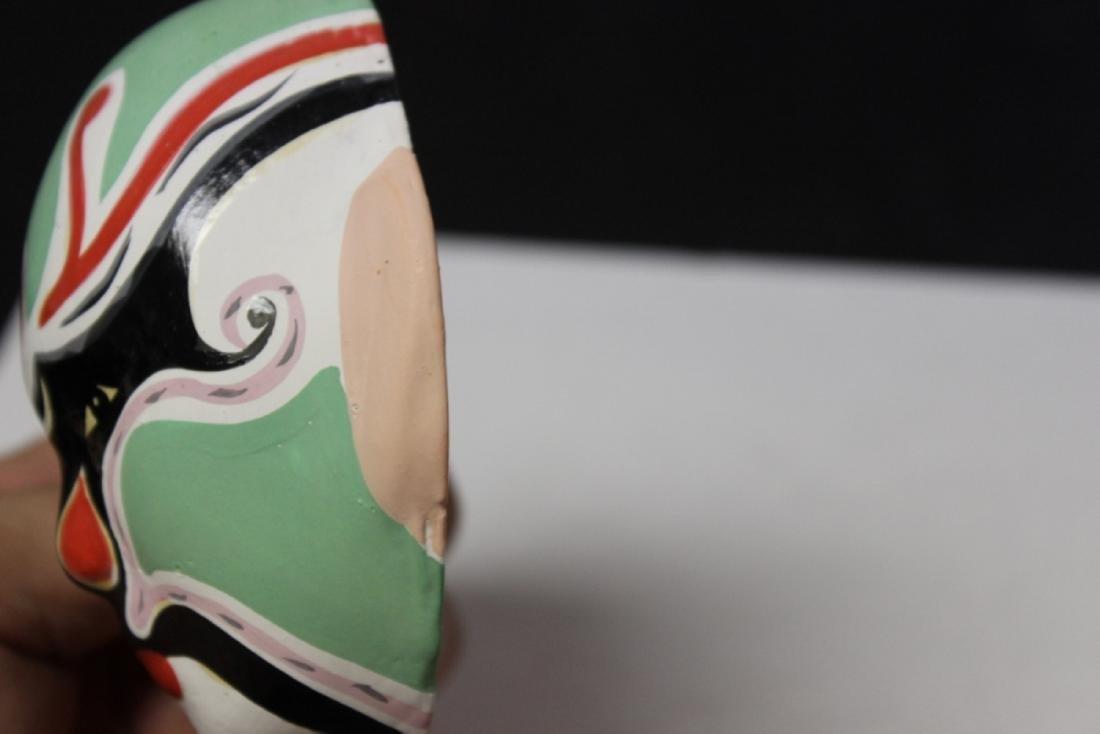 A Ceramic Decorative Mask - 4