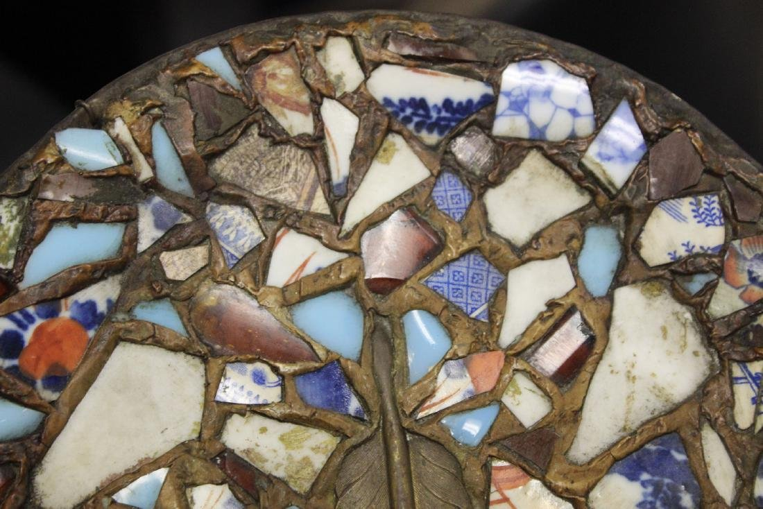 A Mosaic Style Platter - 3