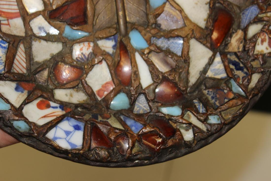 A Mosaic Style Platter - 4
