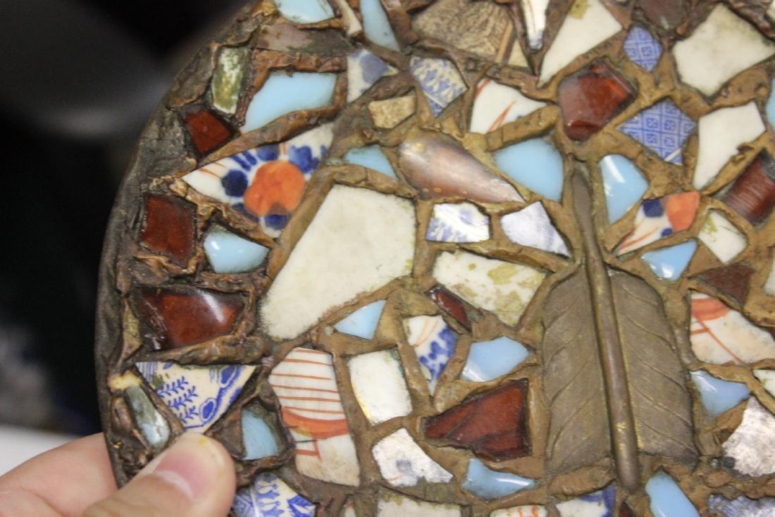 A Mosaic Style Platter - 5