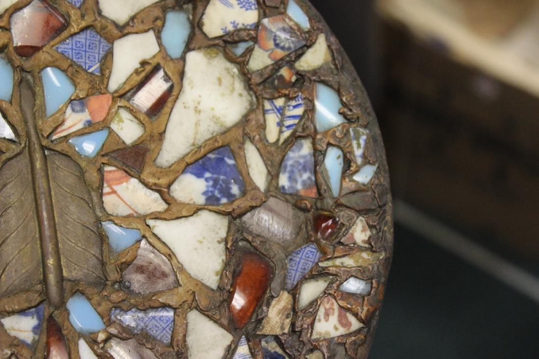 A Mosaic Style Platter - 6