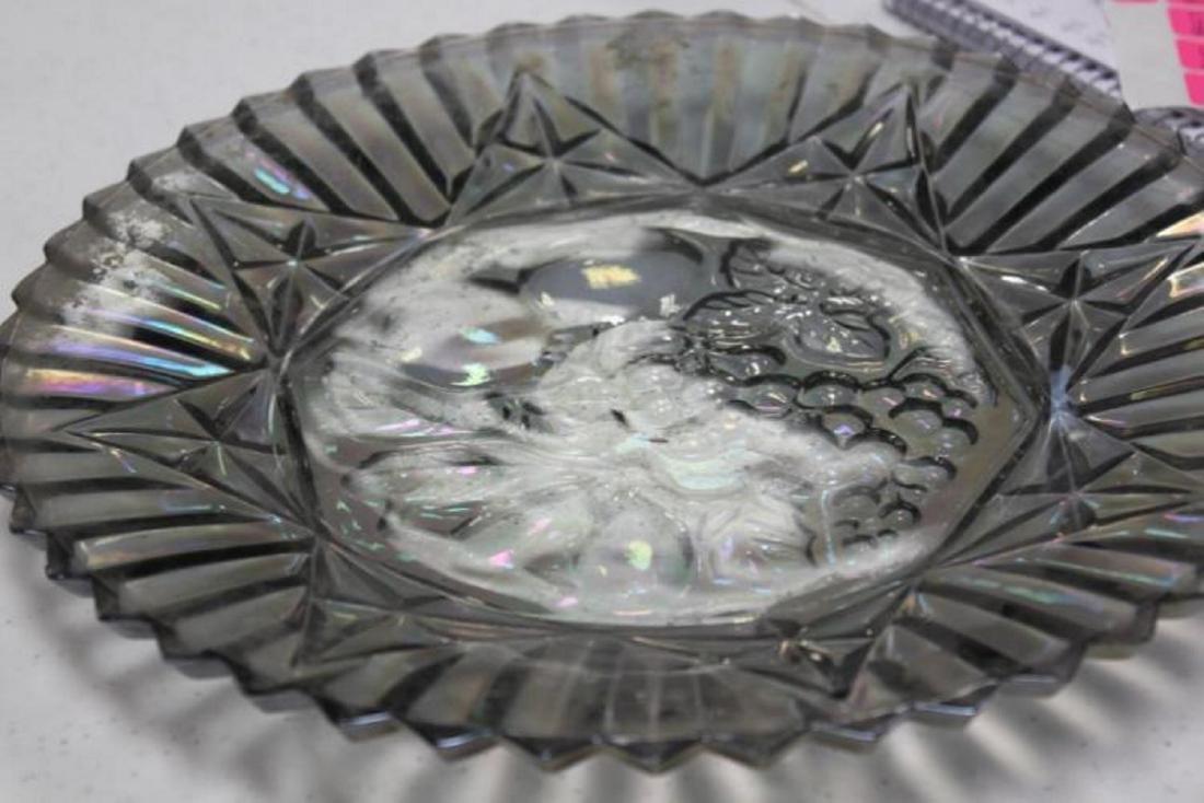 Vintage Luster Carnival Plate