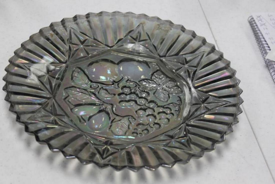 Vintage Luster Carnival Plate - 2