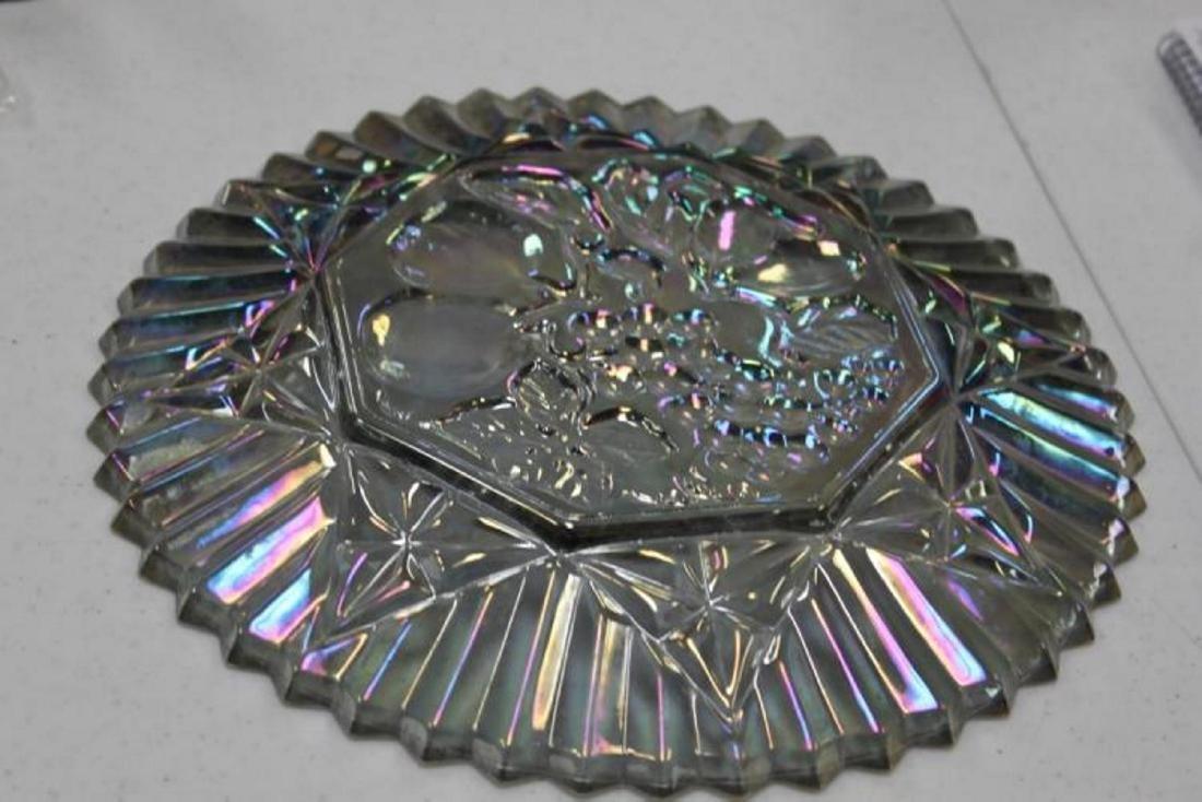 Vintage Luster Carnival Plate - 3