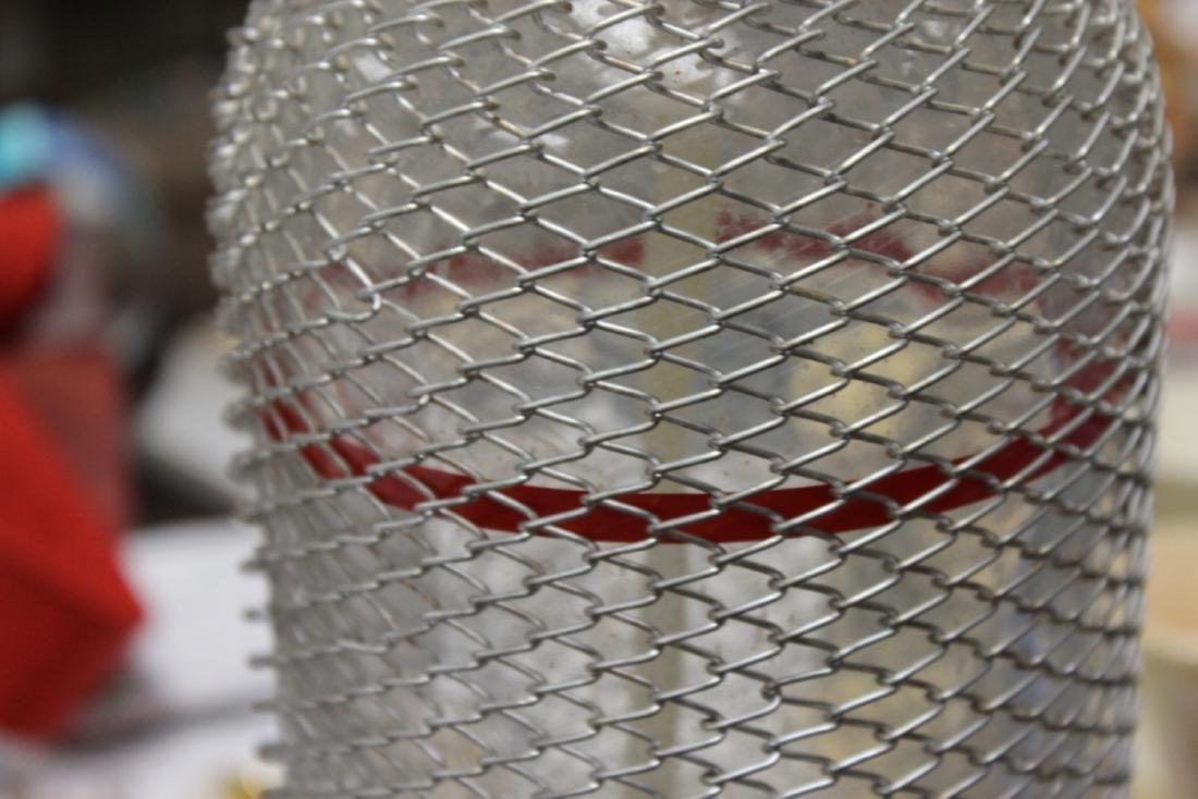 A Wire Mesh Seltzer Bottle - 4