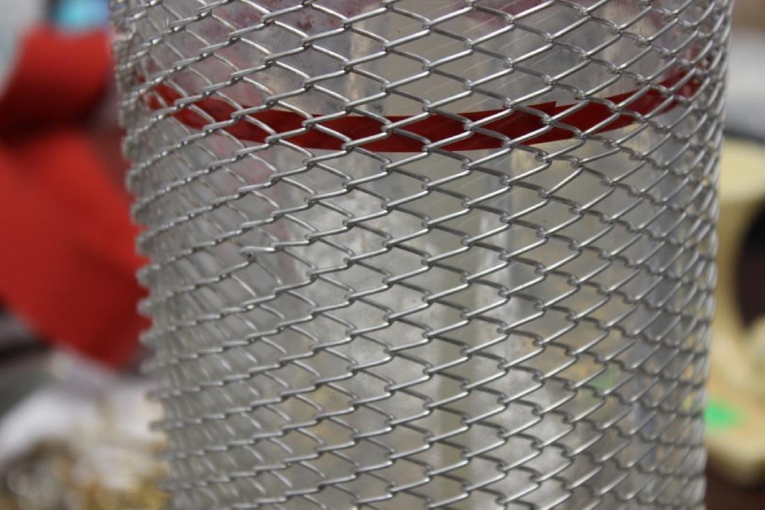 A Wire Mesh Seltzer Bottle - 5