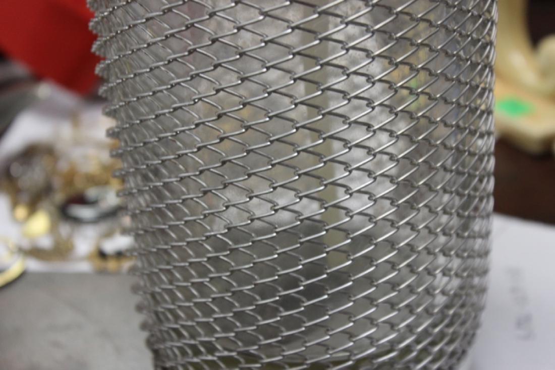 A Wire Mesh Seltzer Bottle - 7