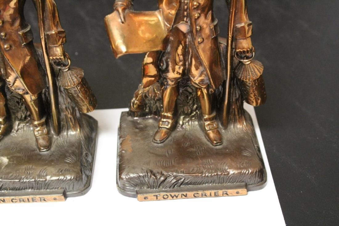 A Pair of Town Crier Bookends - 3