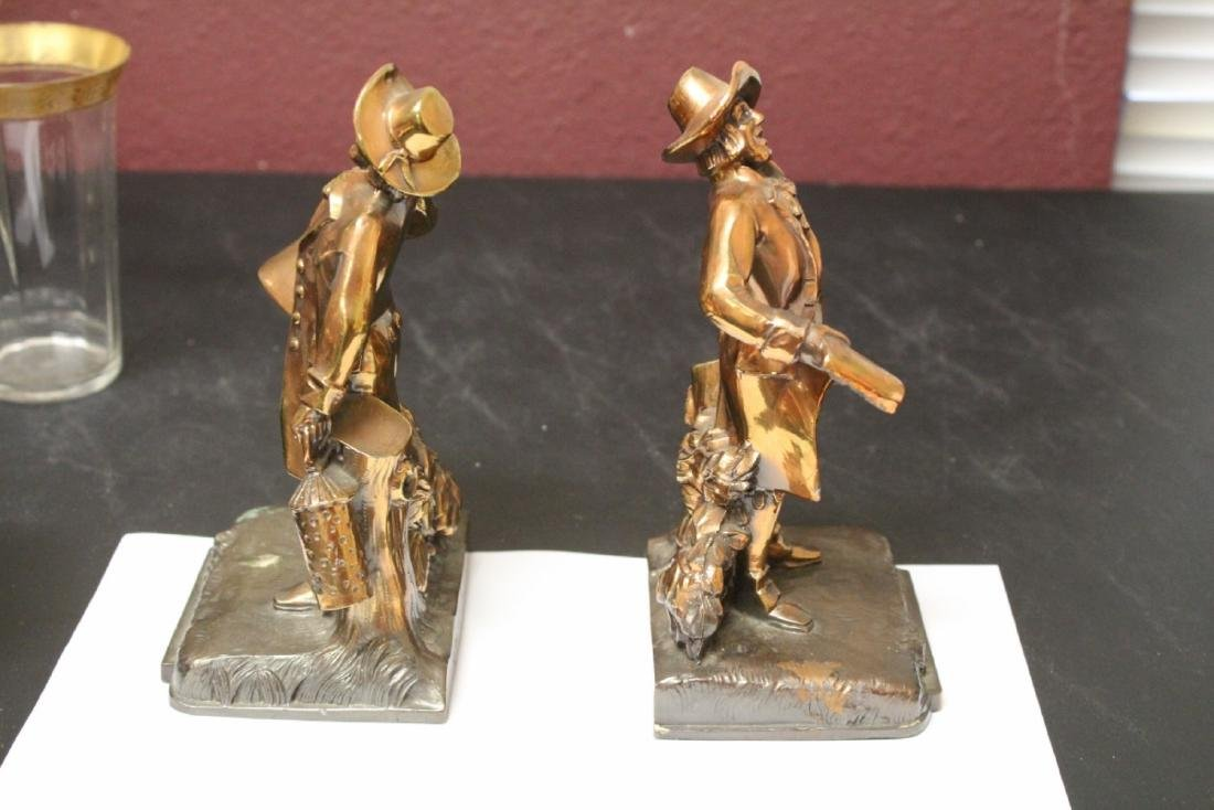 A Pair of Town Crier Bookends - 4