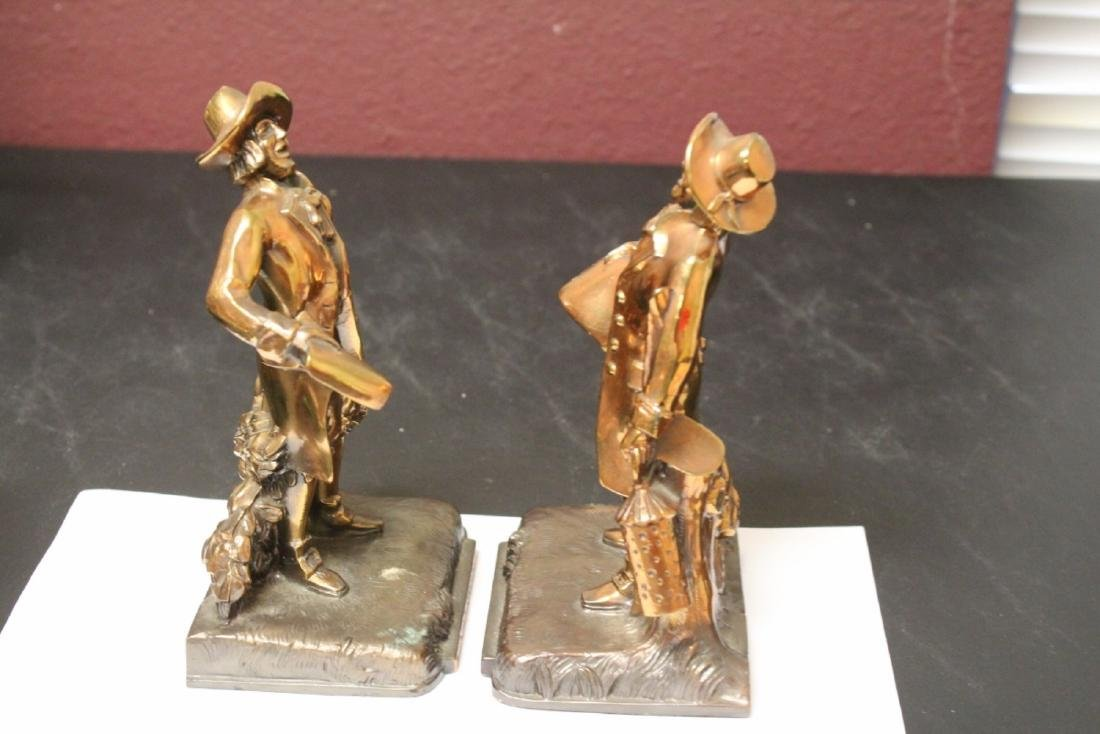 A Pair of Town Crier Bookends - 5