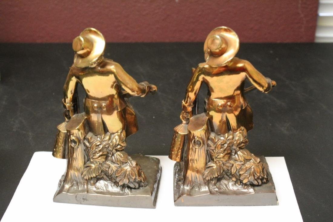 A Pair of Town Crier Bookends - 6