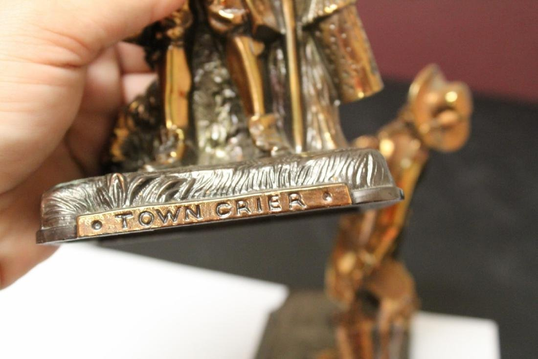 A Pair of Town Crier Bookends - 7
