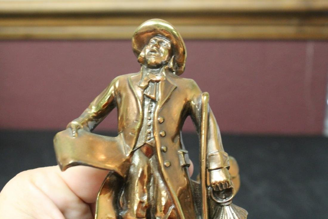 A Pair of Town Crier Bookends - 8